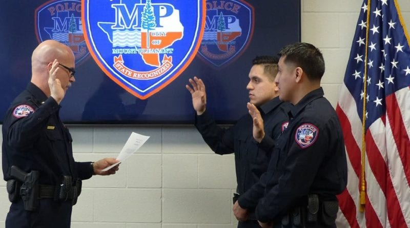 MPPD new officers