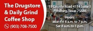 The Drugstore and Daily Grind Coffee Shop – Event Sponsor -320×100