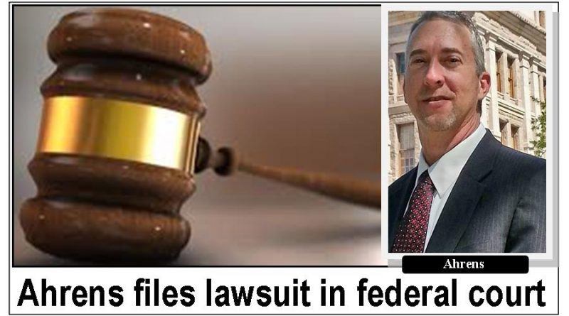 Former city manager files lawsuit