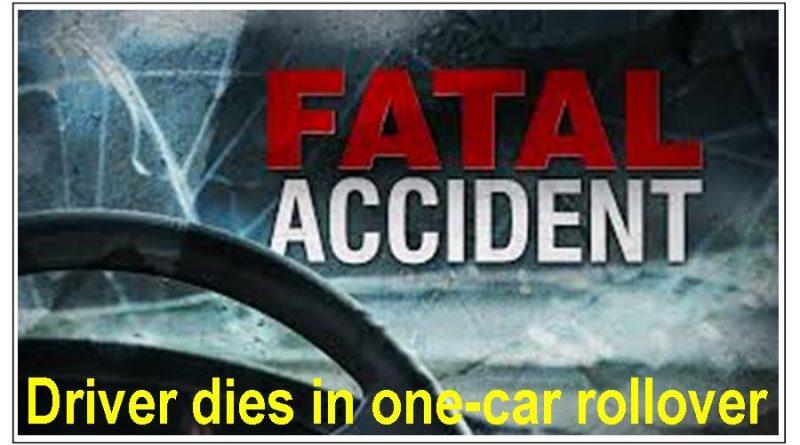 Mount Pleasant man dies in one-car crash