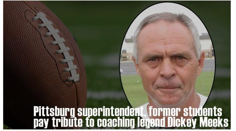 Pittsburg superintendent, former players pay tribute to Dickey Meeks